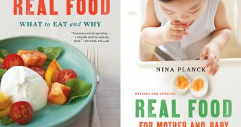 Revised Real Food, Mother & Baby covers